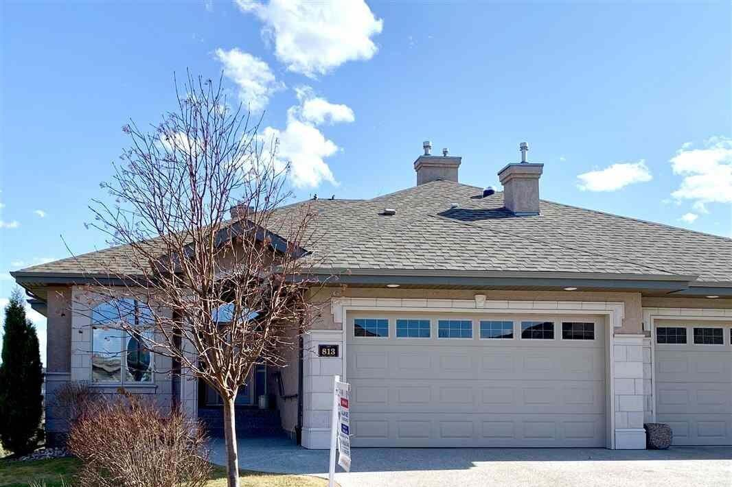 Townhouse for sale at 813 Massey Ld NW Edmonton Alberta - MLS: E4185545