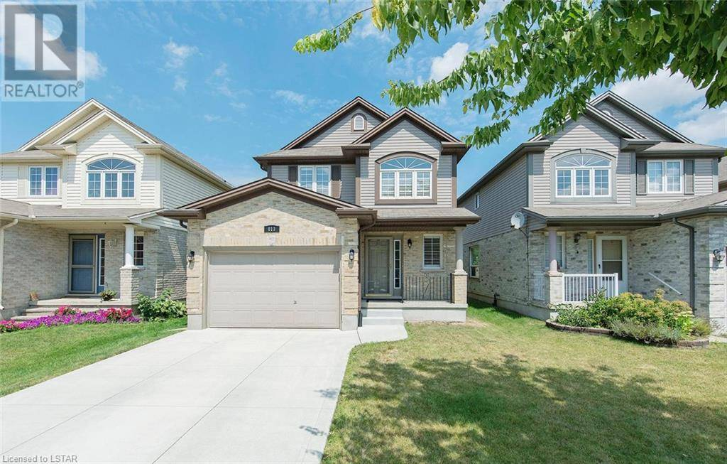House for sale at 813 Queensborough Cres London Ontario - MLS: 215421