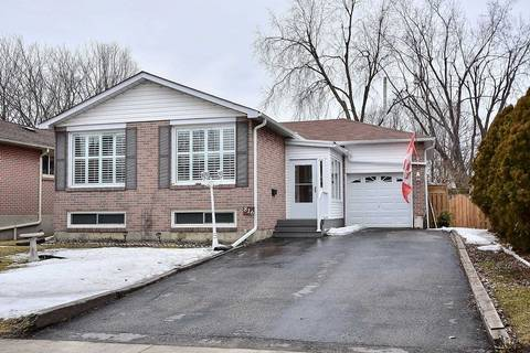 House for sale at 816 Modlin Rd Pickering Ontario - MLS: E4390453