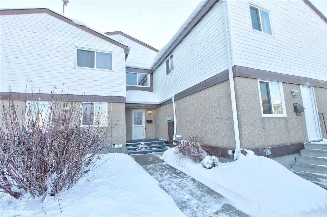 Townhouse for sale at 817 Erin Pl Nw Edmonton Alberta - MLS: E4185255