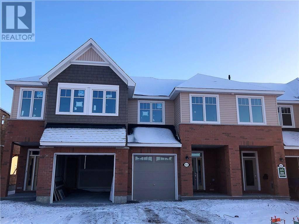 Townhouse for rent at 818 Clapham Te Ottawa Ontario - MLS: 1177876