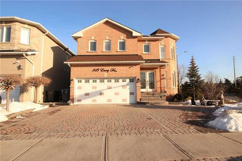House for sale at 818 Envoy Dr Mississauga Ontario - MLS: W4704693