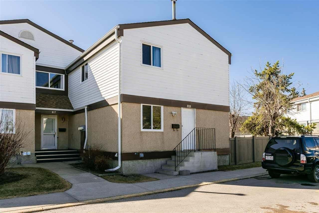 Townhouse for sale at 818 Erin Pl NW Edmonton Alberta - MLS: E4195275