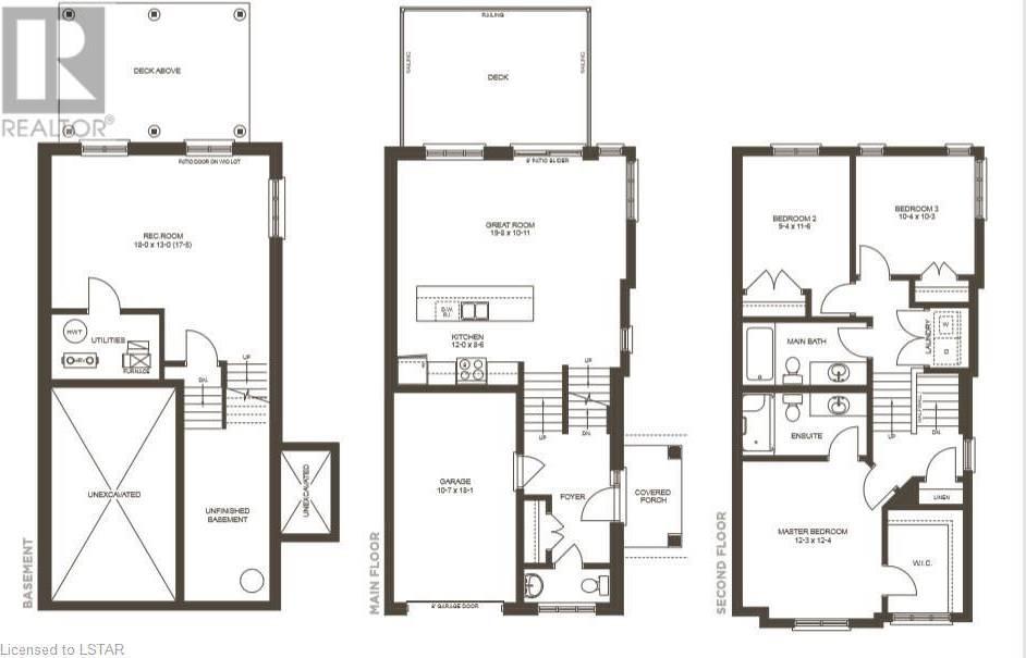Townhouse for sale at 22 Kleinburg Dr Unit 819 London Ontario - MLS: 232668