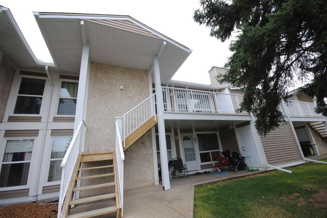Townhouse for sale at 2204 118 St NW Unit 82 Edmonton Alberta - MLS: E4195513