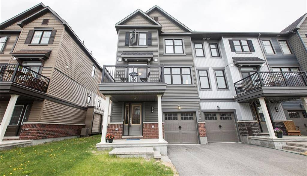 Townhouse for rent at 82 Fallengale Cres Ottawa Ontario - MLS: 1165944