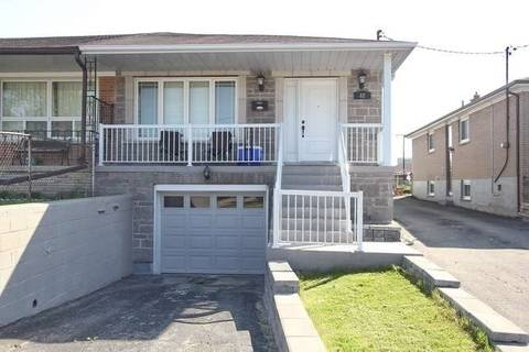 Townhouse for sale at 82 Laskay Cres Toronto Ontario - MLS: W4542121