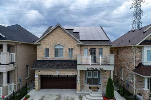 House for sale at 82 Monkton Circ Brampton Ontario - MLS: W4544673