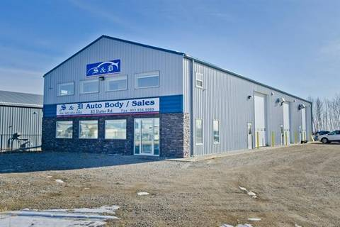 Commercial property for sale at 82 Slater Rd Strathmore Alberta - MLS: C4274828