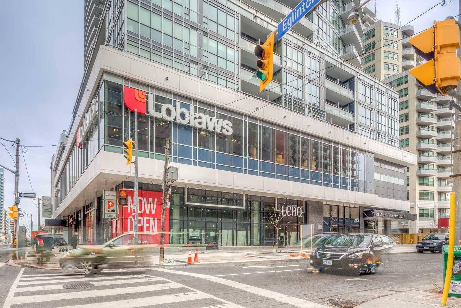 Apartment for rent at 98 Lillian St Unit 820 Toronto Ontario - MLS: C4698108