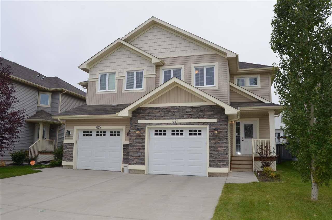 Townhouse for sale at 821 172 St Sw Edmonton Alberta - MLS: E4173852