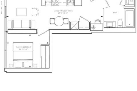 Apartment for rent at 85 Wood St Unit 821 Toronto Ontario - MLS: C4462574