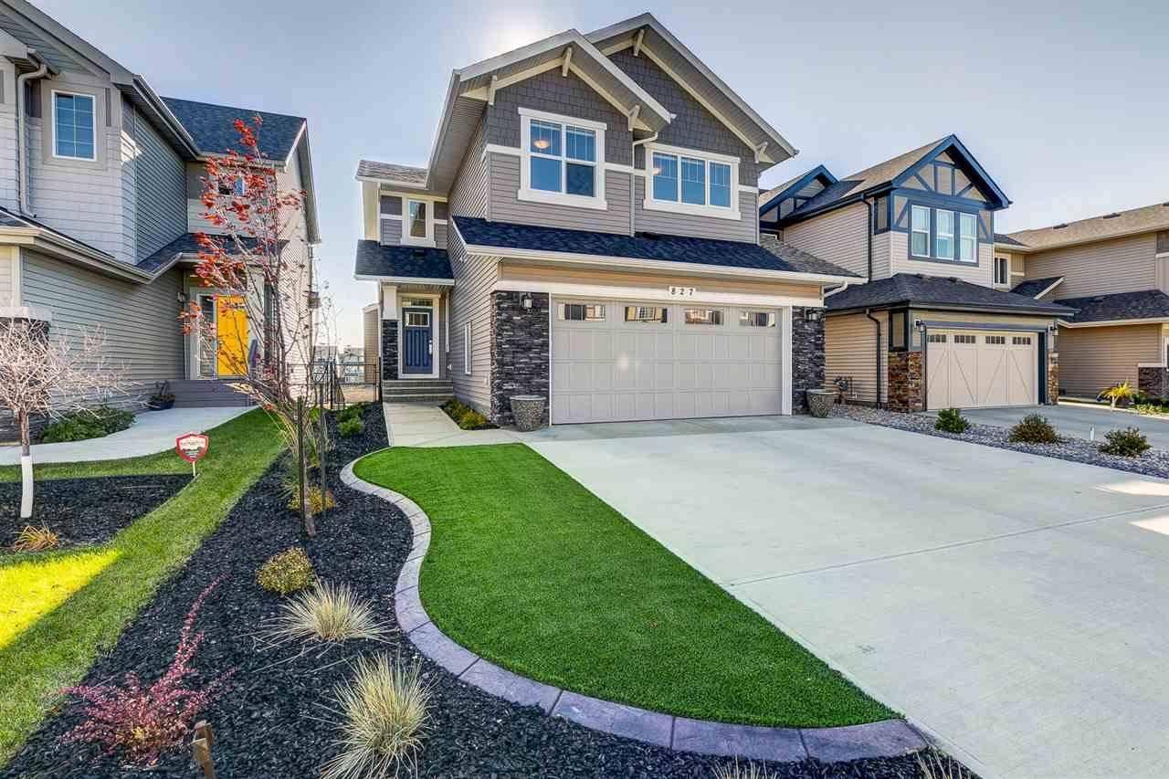House for sale at 827 Eagleson Li Nw Edmonton Alberta - MLS: E4176853
