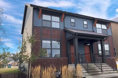 Townhouse for sale at 827 Mahogany Blvd Se Mahogany, Calgary Alberta - MLS: C4213545