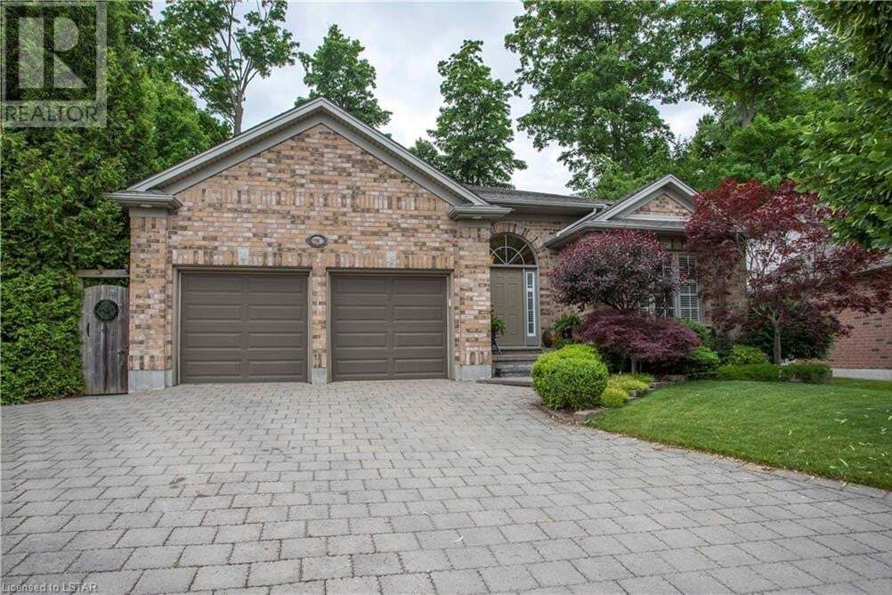 House for sale at 829 Cranbrook Pl London Ontario - MLS: 268094