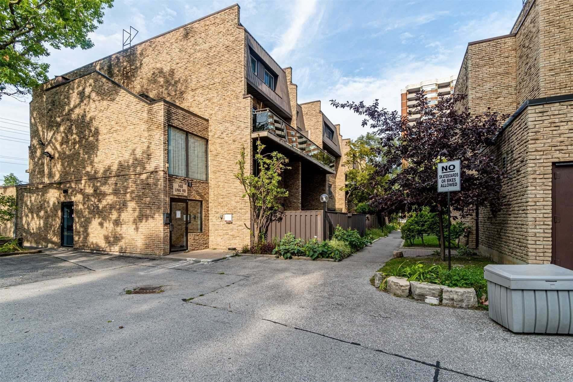 Buliding: 140 Ling Road, Toronto, ON