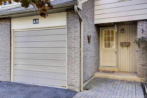 Condo for sale at 40 Lindisfarne Wy Markham Ontario - MLS: N4533188