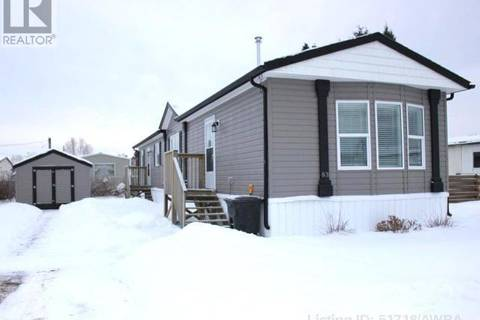 Residential property for sale at 404 6 Ave Nw Unit 83 Slave Lake Alberta - MLS: 51718