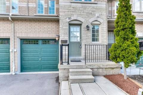 Condo for sale at 455 Apache Ct Unit 83 Mississauga Ontario - MLS: W4461320