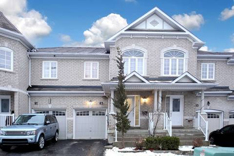 Townhouse for sale at 83 Atherton Ave Ajax Ontario - MLS: E4673559