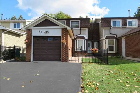 Townhouse for sale at 83 Barnwell Dr Toronto Ontario - MLS: E4608373