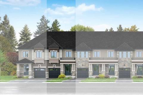 Townhouse for sale at 83 Bilanski Farm Rd Brantford Ontario - MLS: X4670813