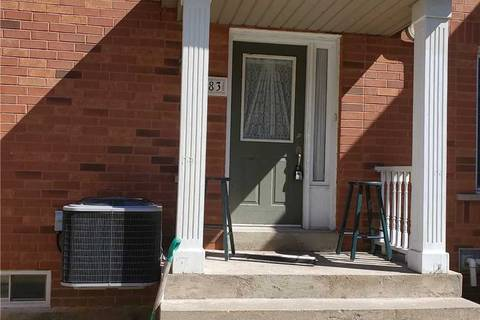 Townhouse for rent at 83 Clover Bloom Rd Brampton Ontario - MLS: W4734114