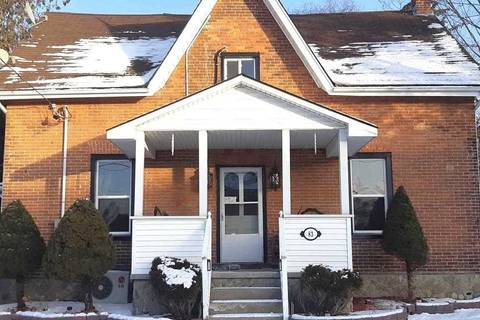 Townhouse for sale at 83 Doxsee Ave Trent Hills Ontario - MLS: X4677196