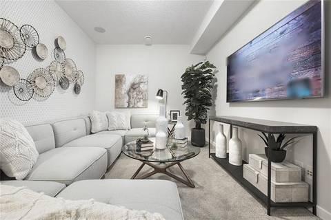 Townhouse for sale at 83 Evanston Hill(s) Northwest Calgary Alberta - MLS: C4238114