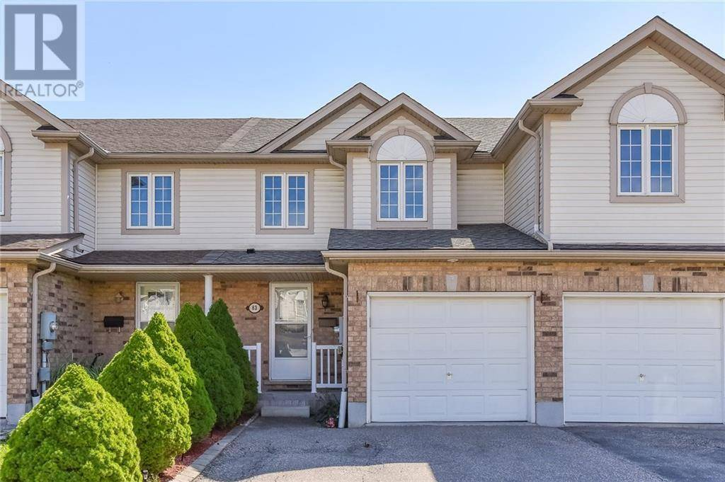 Townhouse for sale at 83 Foxglove Cres Kitchener Ontario - MLS: 30765728