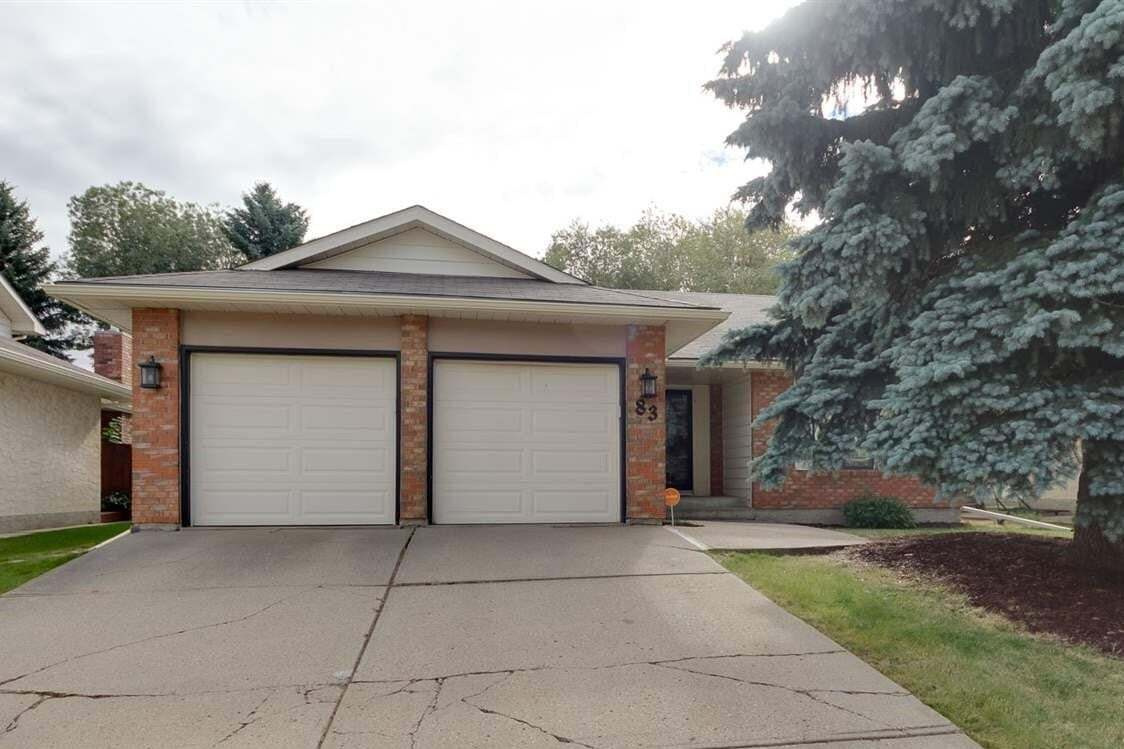 House for sale at 83 Gariepy Cr NW Edmonton Alberta - MLS: E4213864