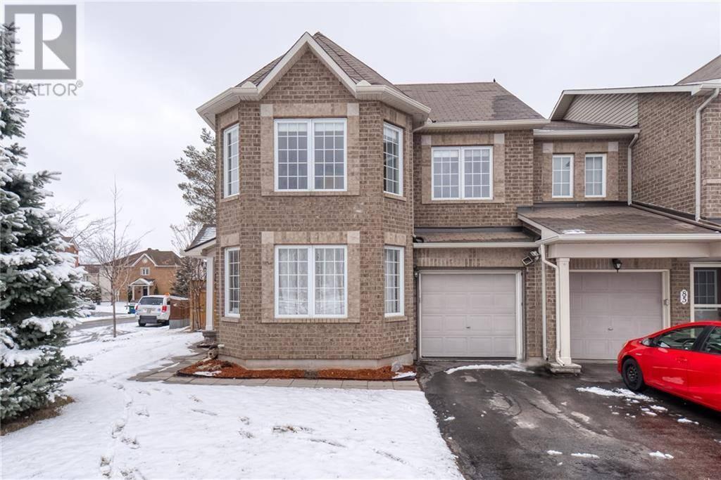 Townhouse for sale at 83 Grovehurst Dr Ottawa Ontario - MLS: 1187356