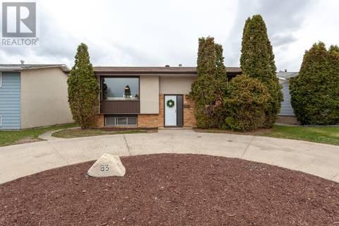 House for sale at 83 Hamilton Ct Ne Medicine Hat Alberta - MLS: mh0165498