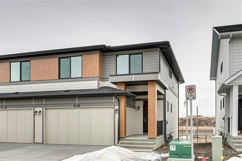 Townhouse for sale at 83 Harvest Grove Common Northeast Calgary Alberta - MLS: C4290813