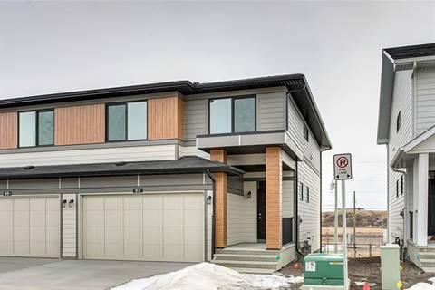 Townhouse for sale at 83 Harvest Grove Common Northeast Calgary Alberta - MLS: C4290813