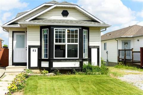 House for sale at 83 Hunterhorn Cres Northeast Calgary Alberta - MLS: C4257503