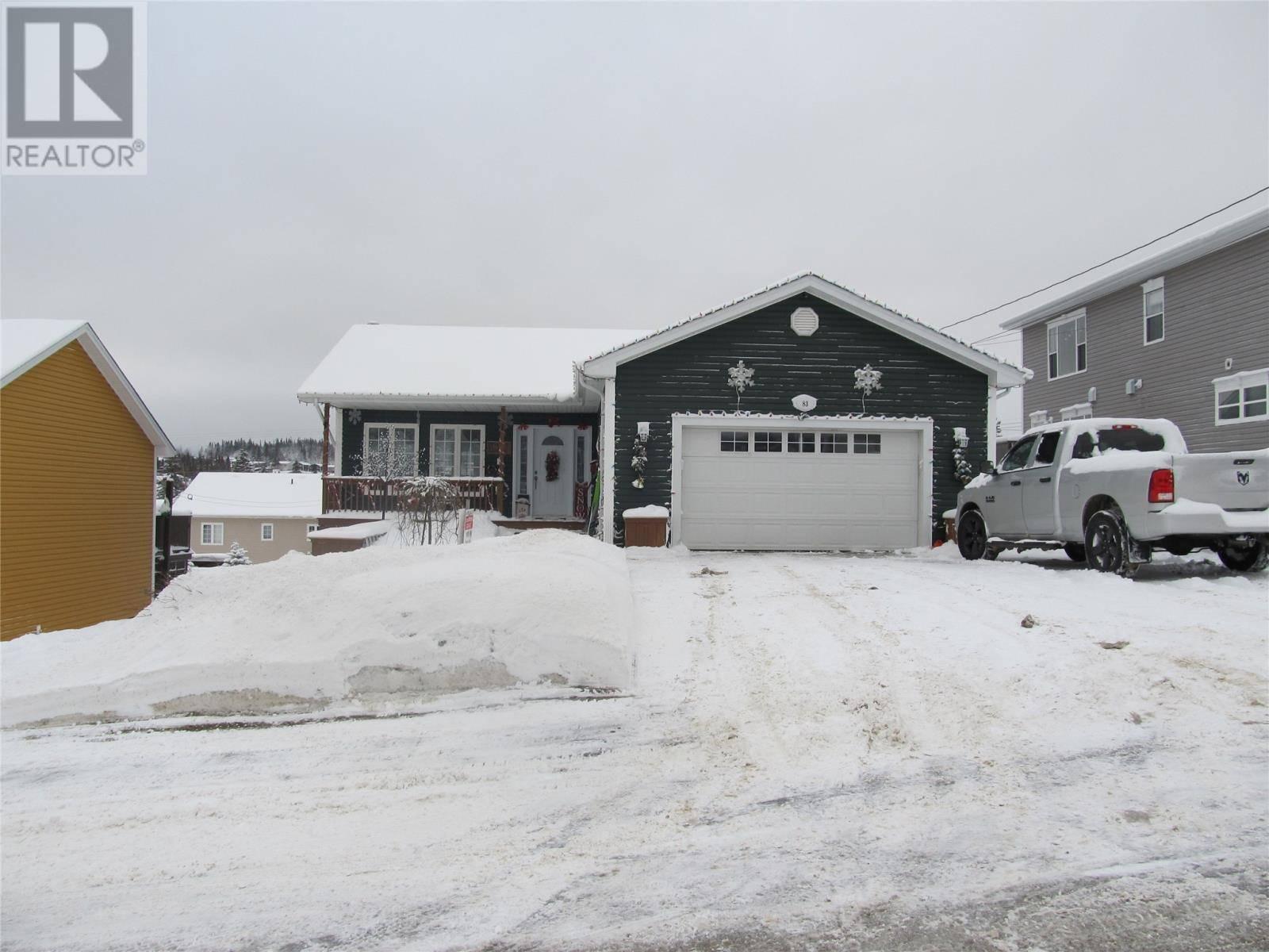 House for sale at 83 Link Pond Dr Corner Brook Newfoundland - MLS: 1209041