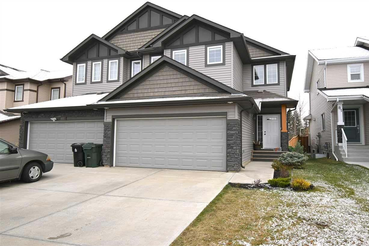 Townhouse for sale at 83 Meadowpark Ga Spruce Grove Alberta - MLS: E4218354