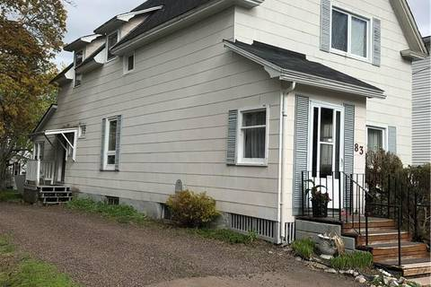 Townhouse for sale at 83 North  Moncton New Brunswick - MLS: M123387