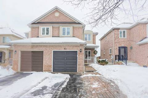 Townhouse for sale at 83 October Ln Aurora Ontario - MLS: N4692270