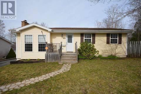 House for sale at 83 Tamarack Circ Lower Sackville Nova Scotia - MLS: 201909162