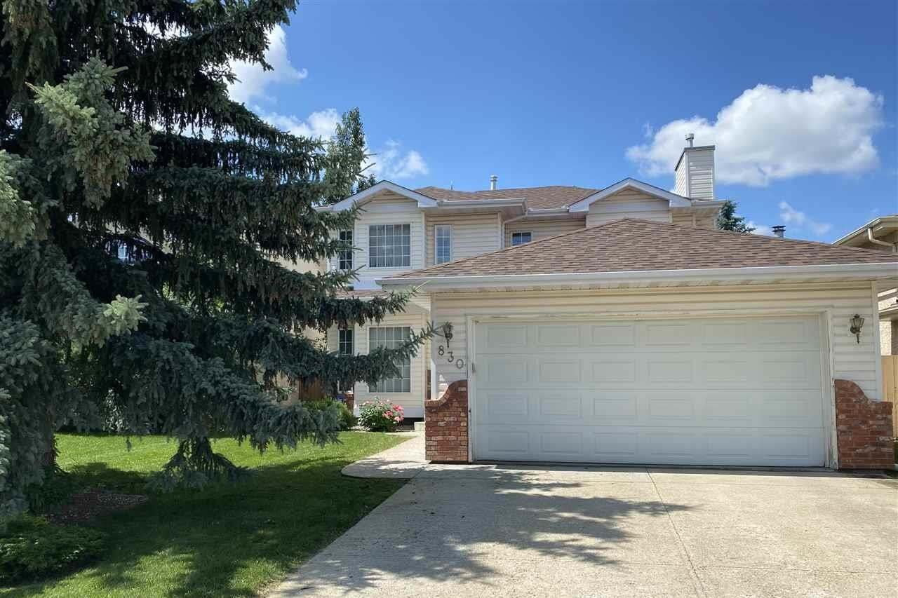 House for sale at 830 112b St NW Edmonton Alberta - MLS: E4191280