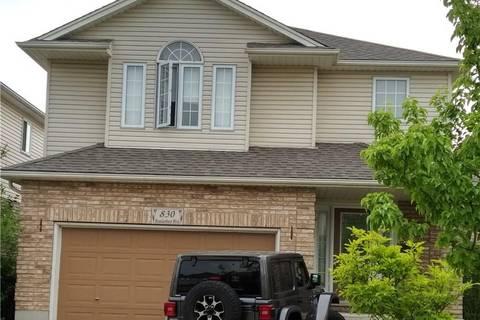 House for sale at 830 Brandenburg Blvd Waterloo Ontario - MLS: 30745245