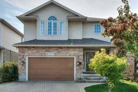 House for sale at 830 Brandenburg Blvd Waterloo Ontario - MLS: X4927004