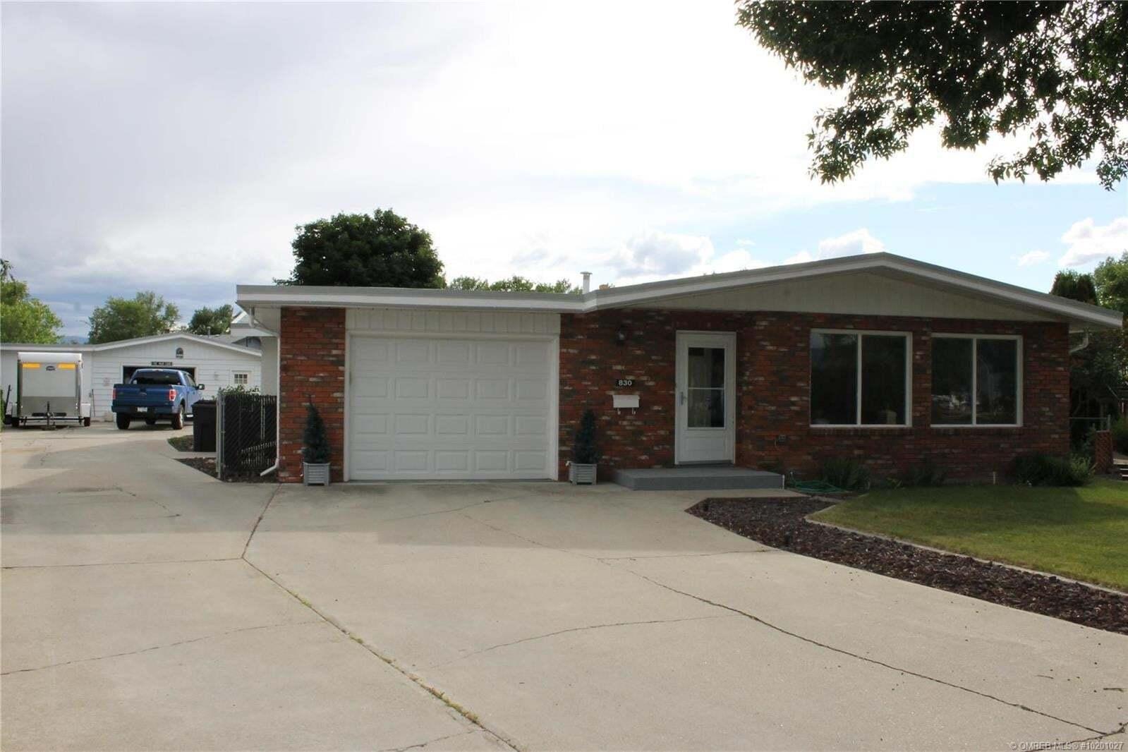 House for sale at 830 Princess Ct Kelowna British Columbia - MLS: 10201027