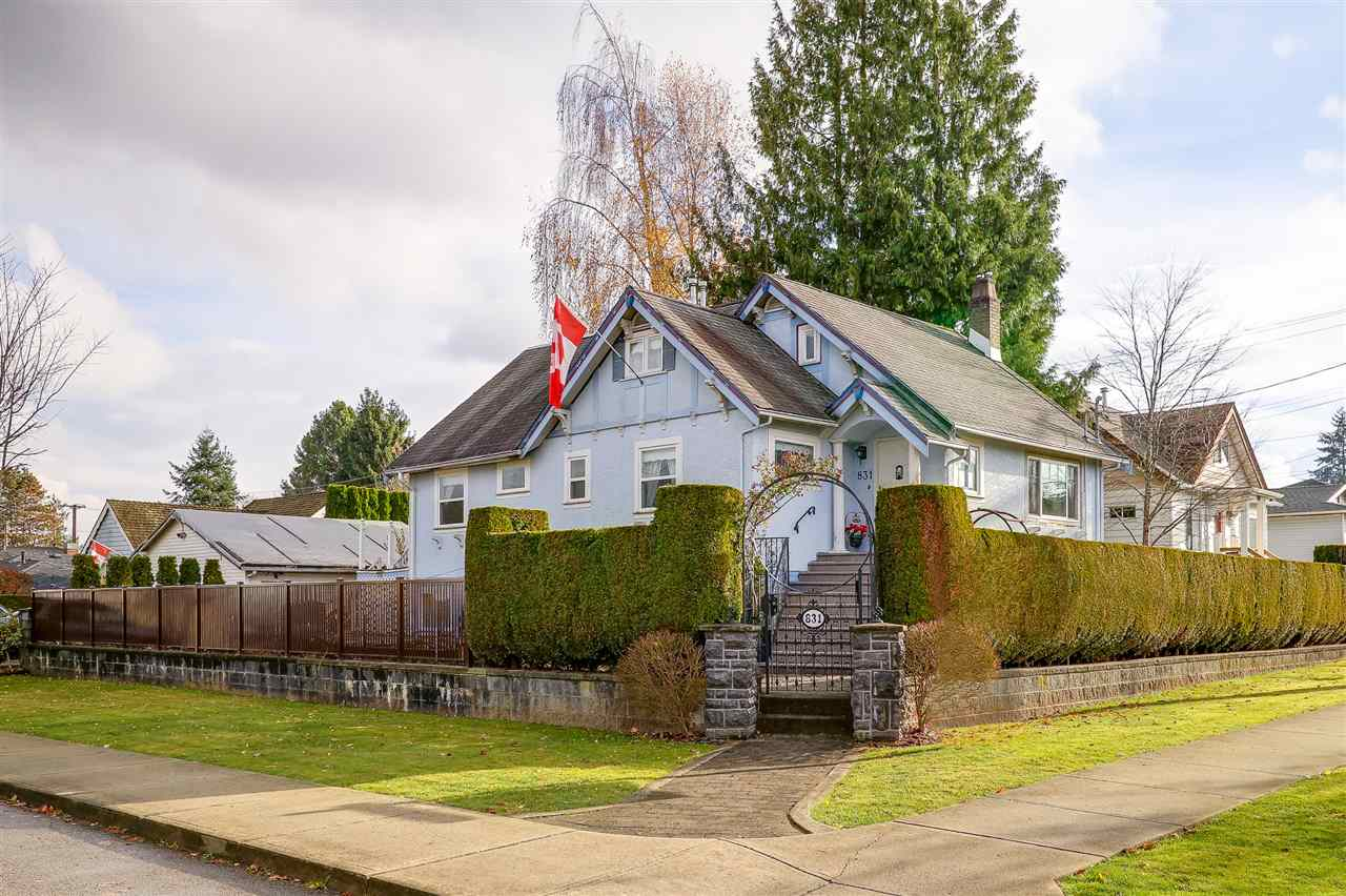 Sold: 831 Second Street, New Westminster, BC