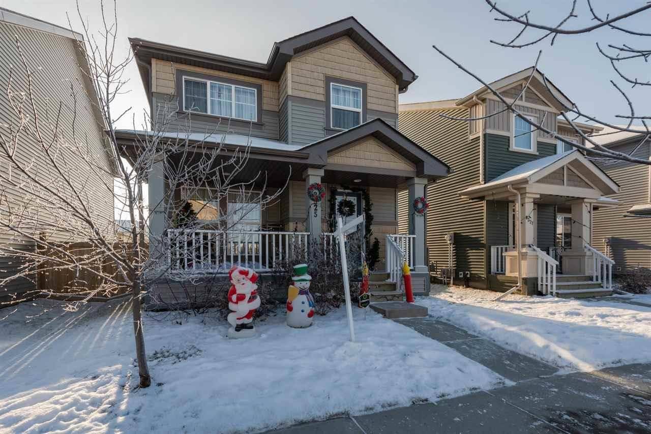 House for sale at 8325 Ellis Cres Nw Edmonton Alberta - MLS: E4181216