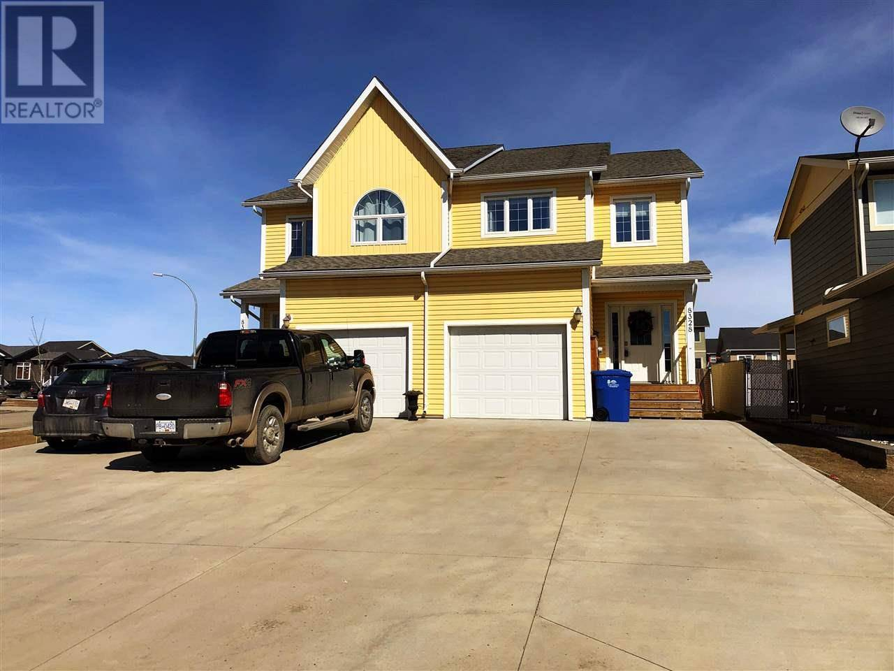 Townhouse for sale at 8328 86 Ave Fort St. John British Columbia - MLS: R2450529