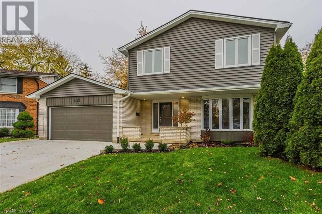 House for sale at 833 Farnham Gr London Ontario - MLS: 231856