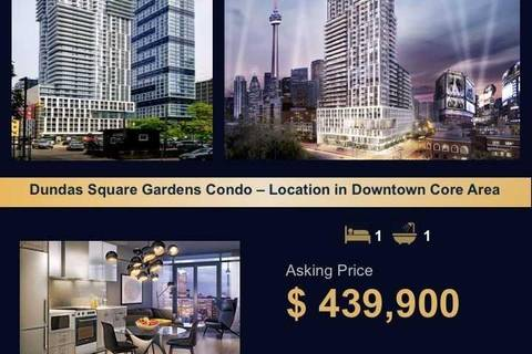 Condo for sale at 200 Dundas St Unit 835 Toronto Ontario - MLS: C4628750